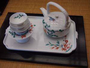 柿右衛門窯の有田焼 お茶セット