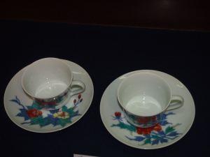柿右衛門窯の有田焼 ティーカップ