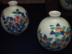 今右衛門窯 花瓶