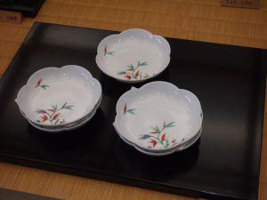 柿右衛門窯の有田焼 小皿